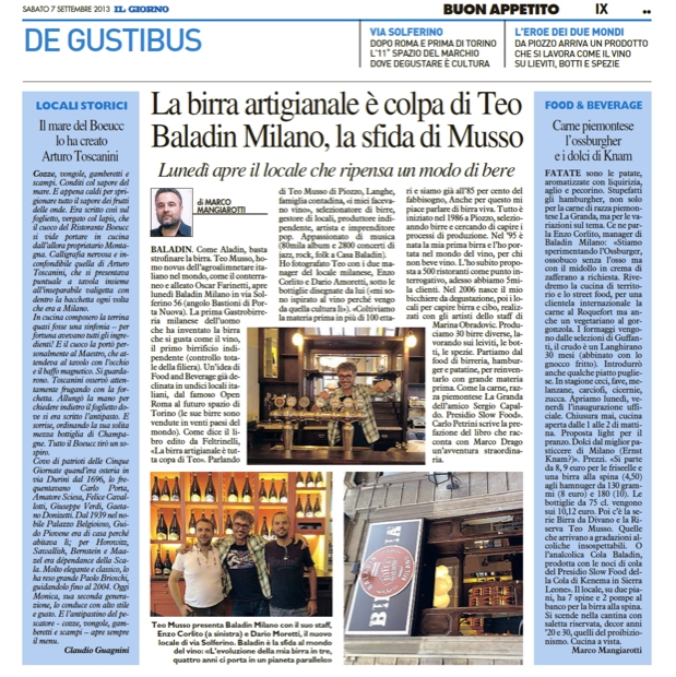 Baladin Milano birra 4