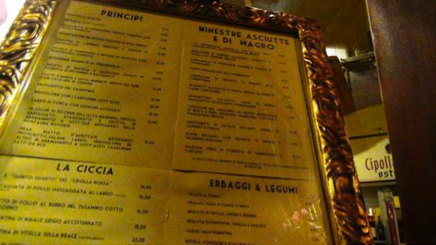 Osteria Cipolla Rossa - Firenze 4