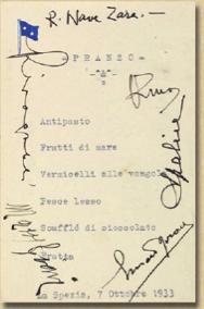 menu anni 30 - base navale La Spezia 4