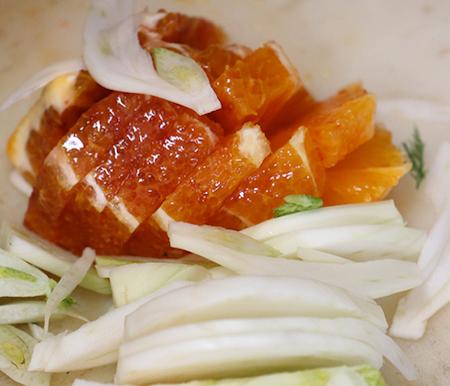 insalata di finocchi e arance 1