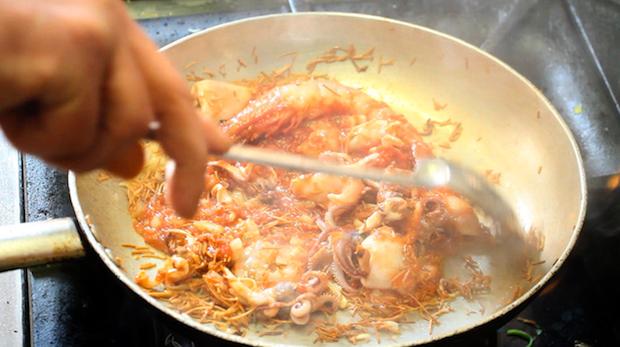 sciaria - zuppa di pesce arabo sicula