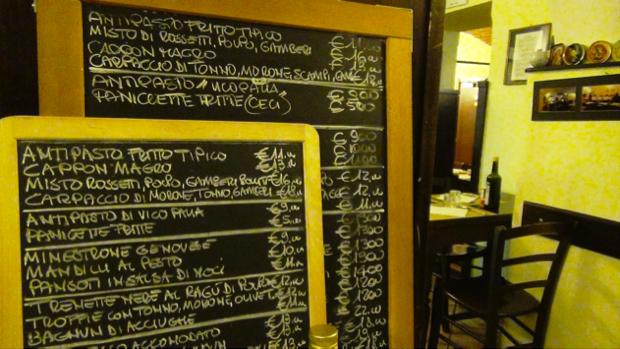 Osteria Vico Palla - Genova 3
