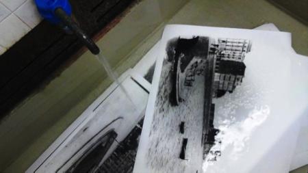 stampa artigianale foto Alinari a Firenze 3