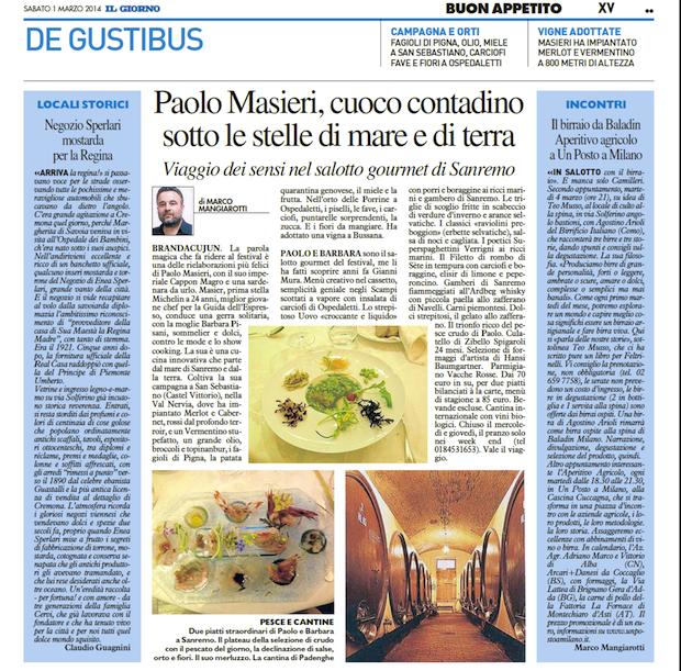 Sanremo - Paolo Masieri cuoco 3