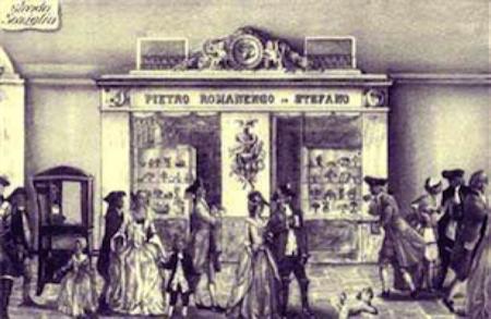 Romanengo confetteria Genova 1