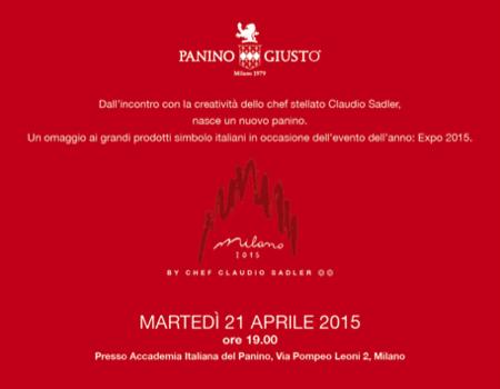 Milano 2015 Sadler il nuovo Panino Giusto 7