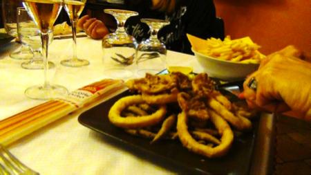 pescetti alla trattoria Italia 6