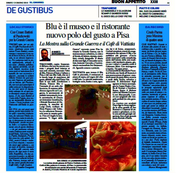 blu museo e ristorante a Pisa 8