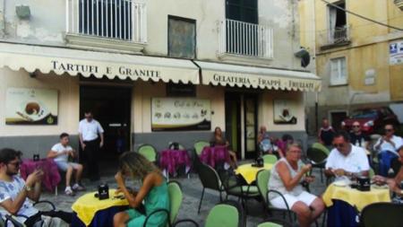 Calabria Granita Cafe de Paris Tropea 2