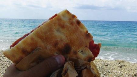 pitta calabrese spiaggia di Palmi 1