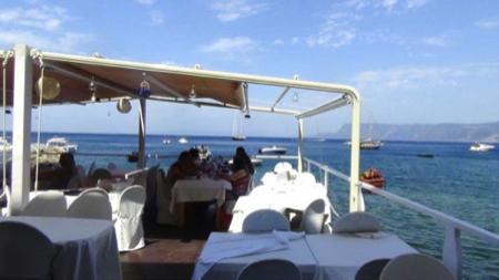 Mangiare sul mare Chianalea in Calabria 1