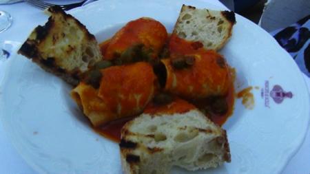 Mangiare sul mare Chianalea in Calabria 10