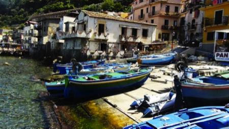 Mangiare sul mare Chianalea in Calabria 2