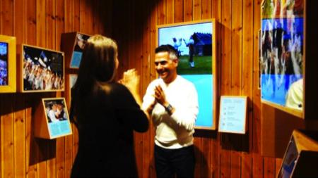 ballare al padiglione Estonia Expo 1