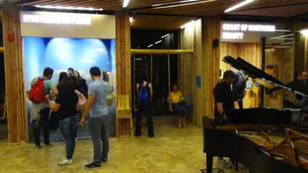 ballare al padiglione Estonia Expo 2