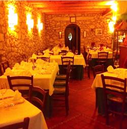 Calabria ristorante A Piazzetta a Mammola 1