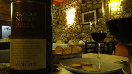 Calabria ristorante A Piazzetta a Mammola 7