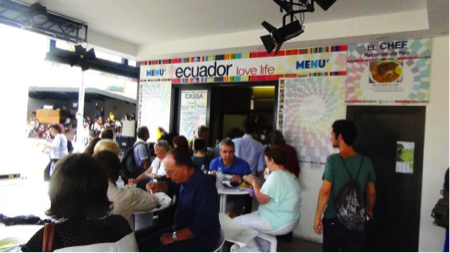Expo Ecuador ristorante 2