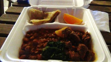 Expo street-food Tanzania 2