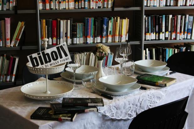 bollate a cena in biblioteca 1
