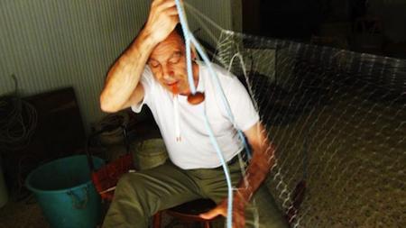 tessitura reti da pesca