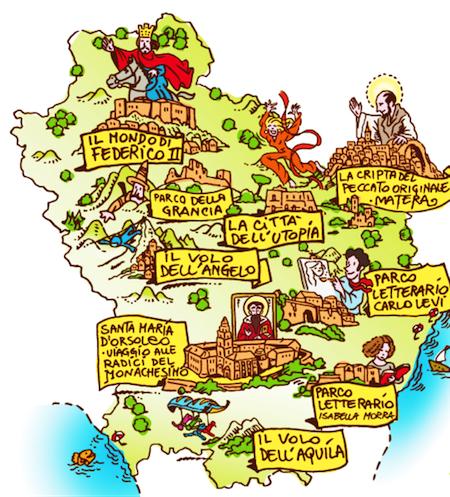 Cartina Basilicata.Basilicata Da Visitare Non Solo Matera