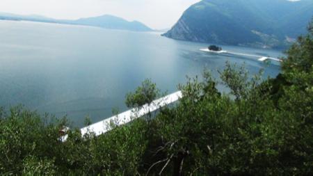 ponte di Christo lago Iseo 4