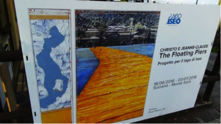 Christo Floating Piers on Lake Iseo 2
