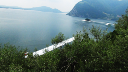 Christo Floating Piers on Lake Iseo 4