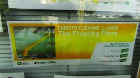Christo Floating Piers on Lake Iseo 6