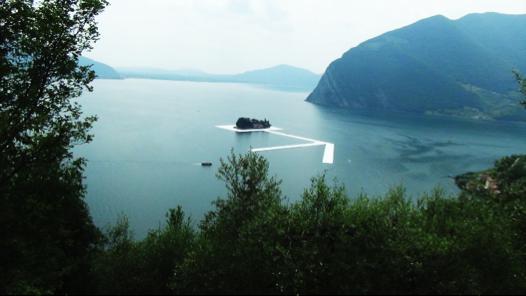 Christo Floating Piers on Lake Iseo 9
