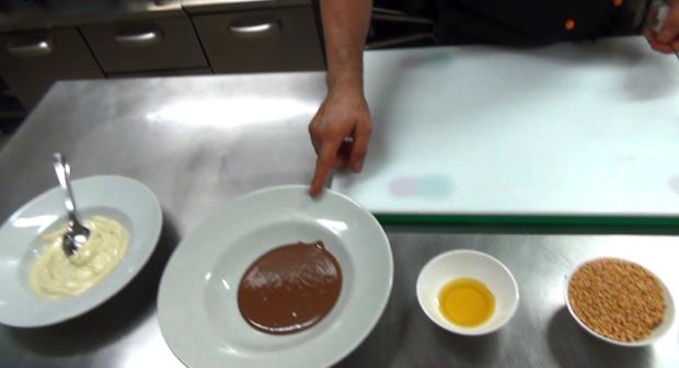 ricetta cremino croccante con gelato pistacchio 2