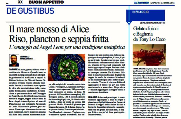 riso plancton seppia fritta a Milano 3