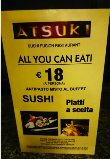 atsuki grill miglior all you can eat sushi milano 9
