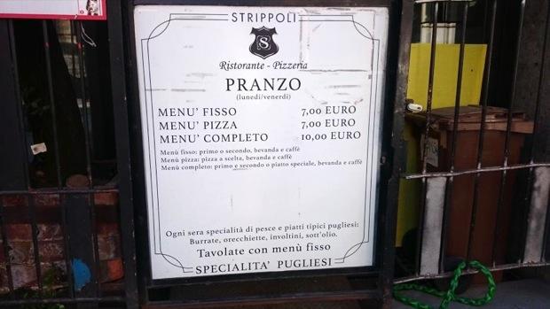 Strippoli a Milano ristorante pugliese low cost 003