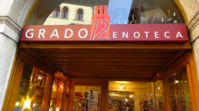 Enoteca Grado 12, a Trento: lo spirito dell'arte