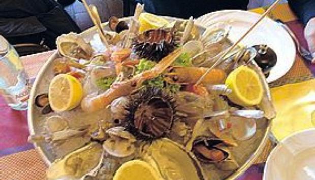 Osteria e pescheria pugliese: Acqua e Sale, crudo reale