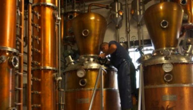 La distillazione della grappa a bagnomaria
