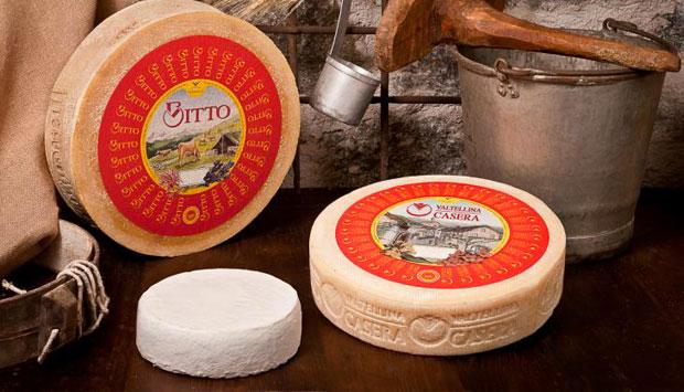 I formaggi della Valtellina