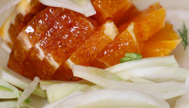 Insalata di finocchi e arance, ricetta semplice da fare in casa