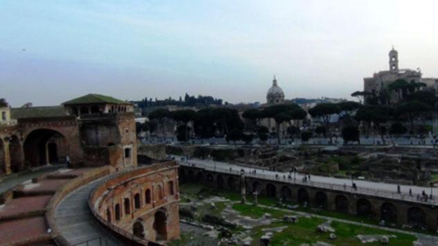 I Mercati di Traiano, la storia dell'architettura a Roma