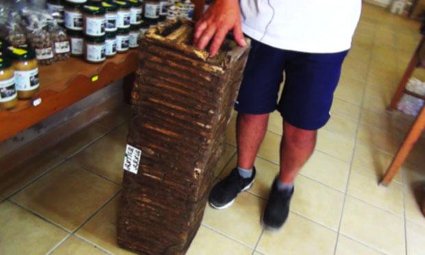 L'antica arnia dell'apicoltura siciliana