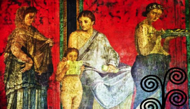 Per' e Palummo, rosso pompeiano