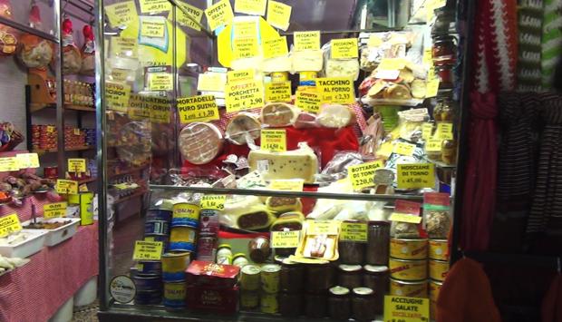 Genova, il cibo per strada…