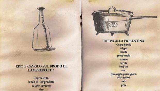 L'introvabile libro di ricette del Trippaio del Porcellino di Firenze