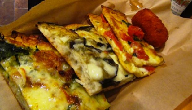 Roscioli, la pizza al taglio romana per antonomasia