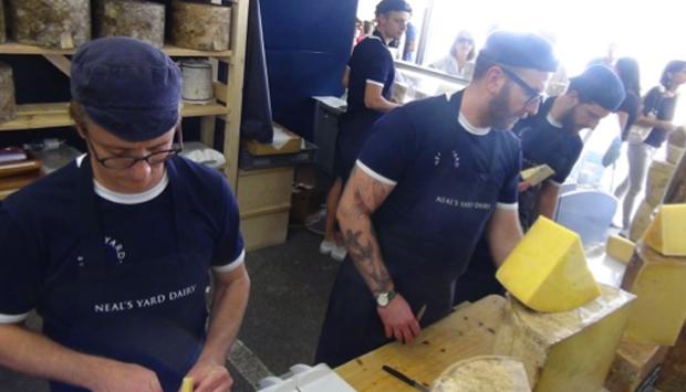 Gli strepitosi formaggi britannici della Neal's Yard Dairy