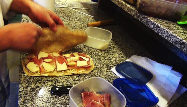 La ricetta del Pagnotto, il panino di pizza farcito