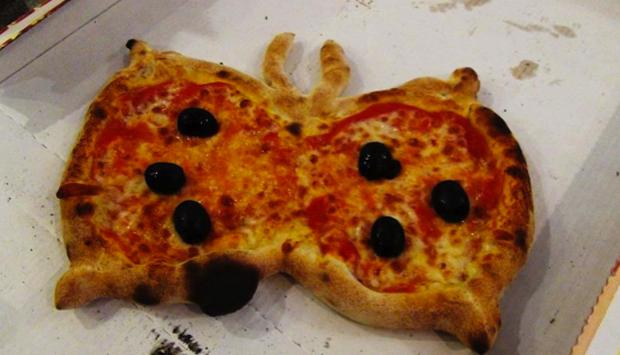La pizza a forma di farfalla: come farla a casa