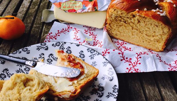 La ricetta della Treccia al Burro per la prima colazione